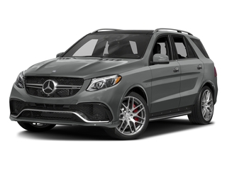 Palladium Silver Metallic 2016 Mercedes-Benz GLE Pictures GLE Utility 4D GLE63 AMG S AWD V8 photos front view