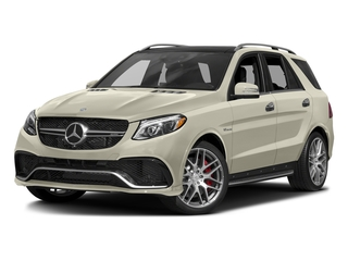 designo Diamond White Metallic 2016 Mercedes-Benz GLE Pictures GLE Utility 4D GLE63 AMG S AWD V8 photos front view