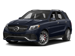 Lunar Blue Metallic 2016 Mercedes-Benz GLE Pictures GLE Utility 4D GLE63 AMG S AWD V8 photos front view