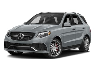 Diamond Silver Metallic 2016 Mercedes-Benz GLE Pictures GLE Utility 4D GLE63 AMG S AWD V8 photos front view