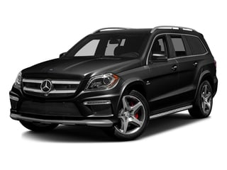 Obsidian Black Metallic 2016 Mercedes-Benz GL Pictures GL Utility 4D GL63 AMG 4WD V8 photos front view