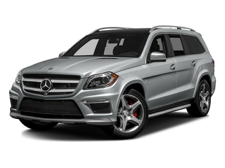 Iridium Silver Metallic 2016 Mercedes-Benz GL Pictures GL Utility 4D GL63 AMG 4WD V8 photos front view