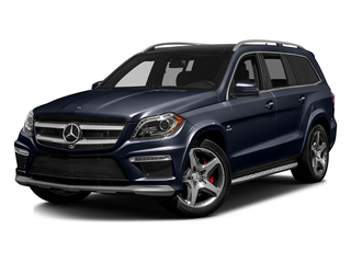Lunar Blue Metallic 2016 Mercedes-Benz GL Pictures GL Utility 4D GL63 AMG 4WD V8 photos front view