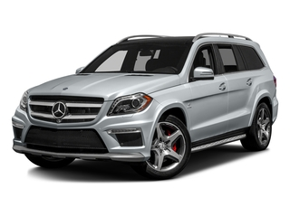 Diamond Silver Metallic 2016 Mercedes-Benz GL Pictures GL Utility 4D GL63 AMG 4WD V8 photos front view