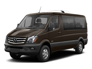 Dolomite Brown Metallic 2016 Mercedes-Benz Sprinter Passenger Vans Pictures Sprinter Passenger Vans Passenger Van photos front view