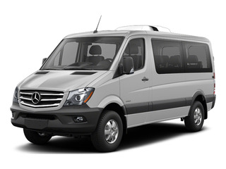 Brilliant Silver Metallic 2016 Mercedes-Benz Sprinter Passenger Vans Pictures Sprinter Passenger Vans Passenger Van photos front view