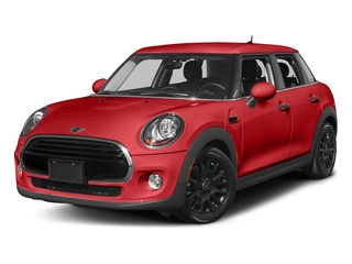 Chili Red 2016 MINI Cooper Hardtop 4 Door Pictures Cooper Hardtop 4 Door Wagon 4D I3 Turbo photos front view