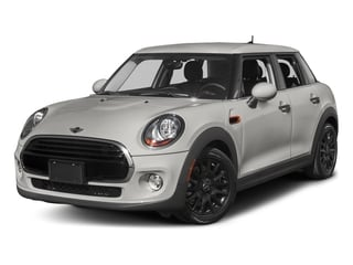 White Silver Metallic 2016 MINI Cooper Hardtop 4 Door Pictures Cooper Hardtop 4 Door Wagon 4D I3 Turbo photos front view