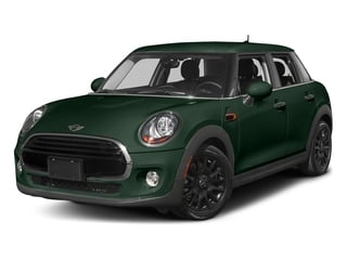 British Racing Green Metallic 2016 MINI Cooper Hardtop 4 Door Pictures Cooper Hardtop 4 Door Wagon 4D I3 Turbo photos front view