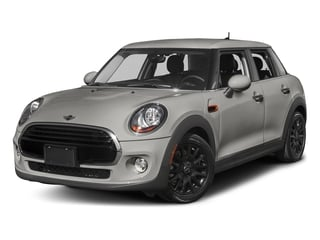 Melting Silver Metallic 2016 MINI Cooper Hardtop 4 Door Pictures Cooper Hardtop 4 Door Wagon 4D I3 Turbo photos front view