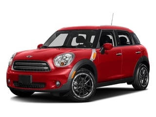 Chili Red 2016 MINI Cooper Countryman Pictures Cooper Countryman Wgn 4D Countryman JCW AWD I4 Turbo photos front view