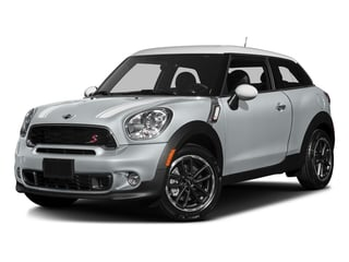 Crystal Silver Metallic 2016 MINI Cooper Paceman Pictures Cooper Paceman Coupe 2D Paceman JCW AWD I4 Turbo photos front view