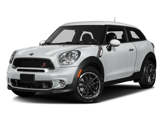 Light White 2016 MINI Cooper Paceman Pictures Cooper Paceman Coupe 2D Paceman JCW AWD I4 Turbo photos front view
