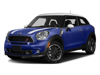 Starlight Blue Metallic 2016 MINI Cooper Paceman Pictures Cooper Paceman Coupe 2D Paceman JCW AWD I4 Turbo photos front view
