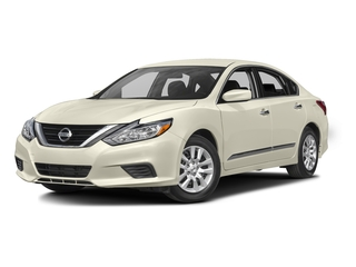Pearl White 2016 Nissan Altima Pictures Altima Sedan 4D SV I4 photos front view