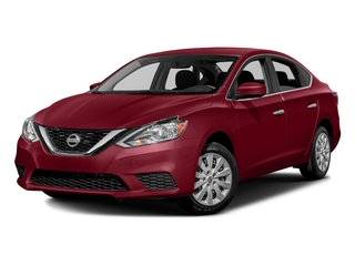 Red Alert 2016 Nissan Sentra Pictures Sentra Sedan 4D SV I4 photos front view