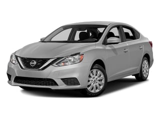 Brilliant Silver Metallic 2016 Nissan Sentra Pictures Sentra Sedan 4D SV I4 photos front view