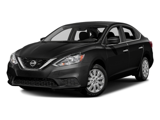 Super Black 2016 Nissan Sentra Pictures Sentra Sedan 4D SV I4 photos front view