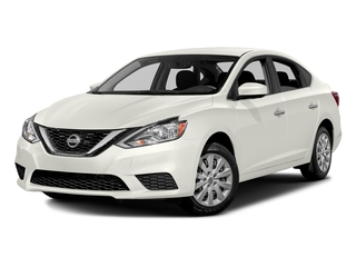 Fresh Powder 2016 Nissan Sentra Pictures Sentra Sedan 4D SV I4 photos front view