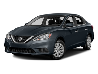 Graphite Blue Metallic 2016 Nissan Sentra Pictures Sentra Sedan 4D SV I4 photos front view