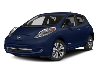 Deep Blue Pearl 2016 Nissan LEAF Pictures LEAF Hatchback 5D SV Electric photos front view