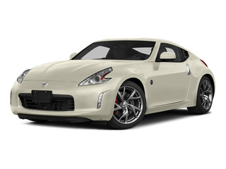 Pearl White 2016 Nissan 370Z Pictures 370Z Coupe 2D V6 photos front view