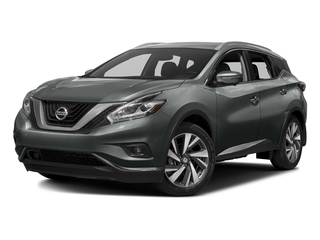 Gun Metallic 2016 Nissan Murano Pictures Murano Utility 4D SL 2WD V6 photos front view
