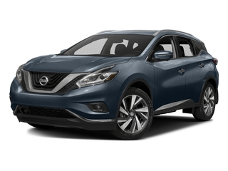 Arctic Blue Metallic 2016 Nissan Murano Pictures Murano Utility 4D SL 2WD V6 photos front view