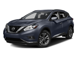 Arctic Blue Metallic 2016 Nissan Murano Pictures Murano Utility 4D S AWD V6 photos front view