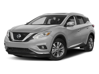 Brilliant Silver Metallic 2016 Nissan Murano Pictures Murano Utility 4D SL 2WD I4 Hybrid photos front view