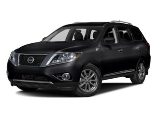Magnetic Black Metallic 2016 Nissan Pathfinder Pictures Pathfinder Utility 4D SL 4WD V6 photos front view