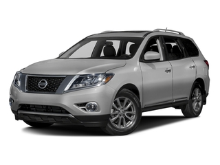 Brilliant Silver Metallic 2016 Nissan Pathfinder Pictures Pathfinder Utility 4D SL 4WD V6 photos front view