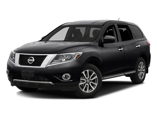Magnetic Black Metallic 2016 Nissan Pathfinder Pictures Pathfinder Utility 4D SV 2WD V6 photos front view