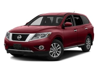 Cayenne Red Metallic 2016 Nissan Pathfinder Pictures Pathfinder Utility 4D SV 2WD V6 photos front view