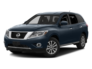 Arctic Blue Metallic 2016 Nissan Pathfinder Pictures Pathfinder Utility 4D SV 2WD V6 photos front view