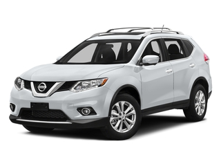 Glacier White 2016 Nissan Rogue Pictures Rogue Utility 4D SV AWD I4 photos front view