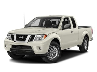 Glacier White 2016 Nissan Frontier Pictures Frontier King Cab SV 2WD photos front view