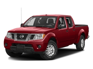 Lava Red 2016 Nissan Frontier Pictures Frontier Crew Cab SV 4WD photos front view