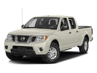 Glacier White 2016 Nissan Frontier Pictures Frontier Crew Cab SV 4WD photos front view