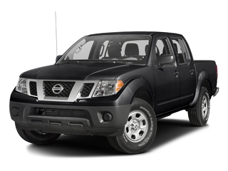 Magnetic Black 2016 Nissan Frontier Pictures Frontier Crew Cab S 2WD photos front view