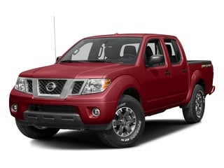 Lava Red 2016 Nissan Frontier Pictures Frontier Crew Cab Desert Runner 2WD photos front view