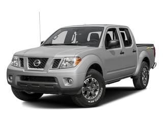 Brilliant Silver 2016 Nissan Frontier Pictures Frontier Crew Cab Desert Runner 2WD photos front view