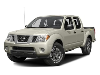 Glacier White 2016 Nissan Frontier Pictures Frontier Crew Cab Desert Runner 2WD photos front view