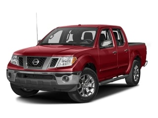 Lava Red 2016 Nissan Frontier Pictures Frontier Crew Cab SL 4WD photos front view