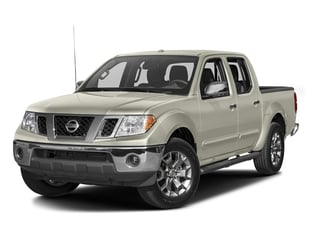 Glacier White 2016 Nissan Frontier Pictures Frontier Crew Cab SL 4WD photos front view