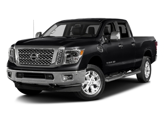 Magnetic Black 2016 Nissan Titan XD Pictures Titan XD Crew Cab SL 2WD V8 photos front view