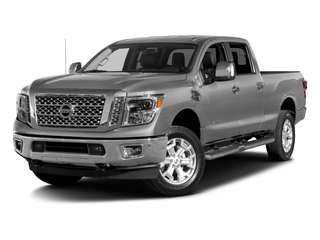 Brilliant Silver 2016 Nissan Titan XD Pictures Titan XD Crew Cab SL 2WD V8 photos front view