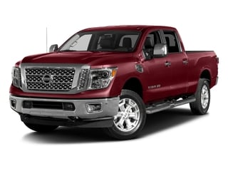 Cayenne Red 2016 Nissan Titan XD Pictures Titan XD Crew Cab SL 2WD V8 photos front view