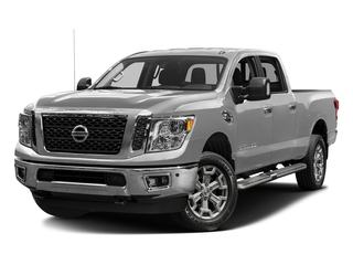 Brilliant Silver 2016 Nissan Titan XD Pictures Titan XD Crew Cab SV 2WD V8 photos front view