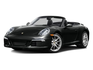 Jet Black Metallic 2016 Porsche 911 Pictures 911 Cabriolet 2D GTS H6 photos front view